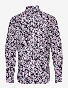 Shirt l/s - NAVY FLOWER