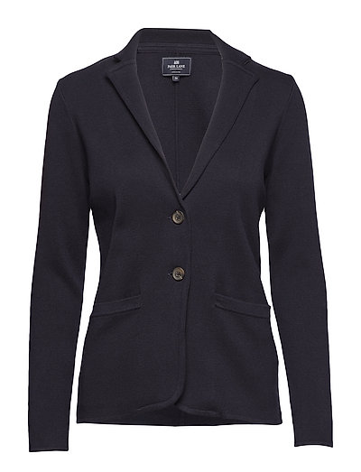 Blazer knitted - NAVY