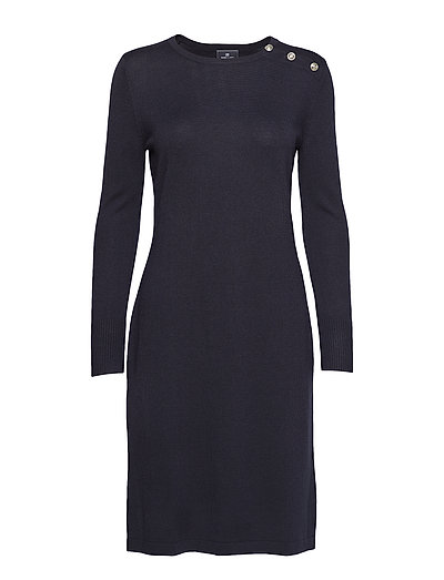 Dress merino - NAVY