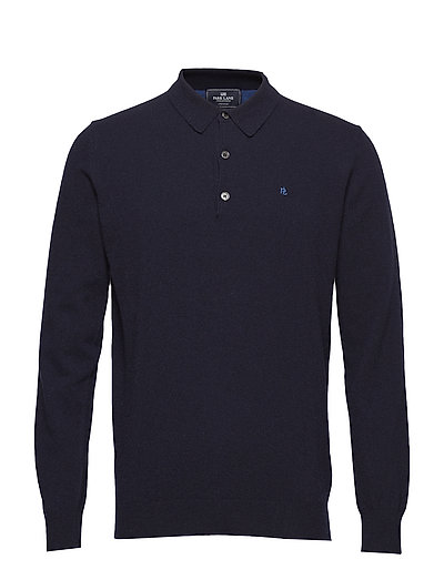 Shirt pullover with buttons - NAVY