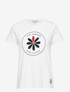 Knæk Cancer T-shirt - WHITE