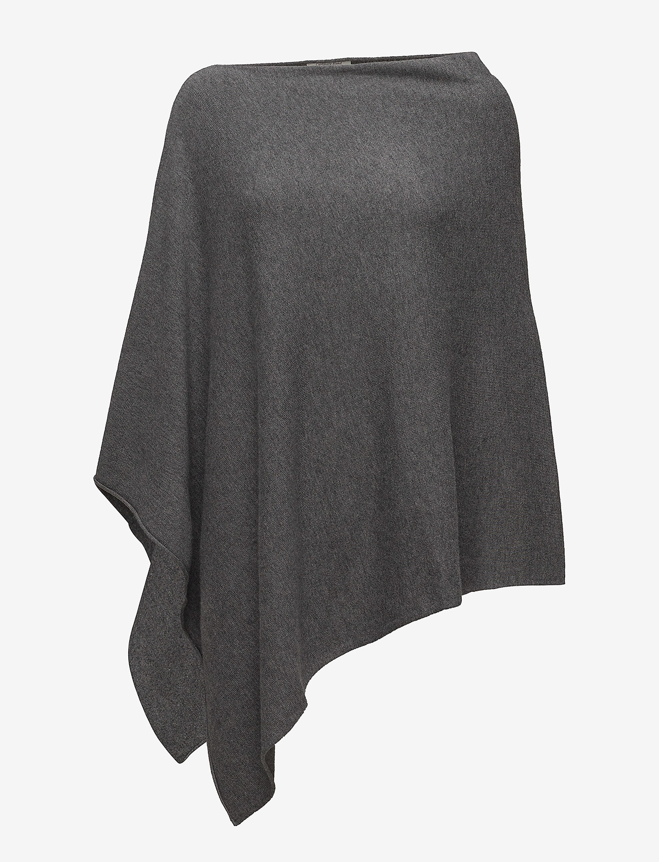 Part Two - KristannaPW PO - ponchos & capes - medium grey melange - 0