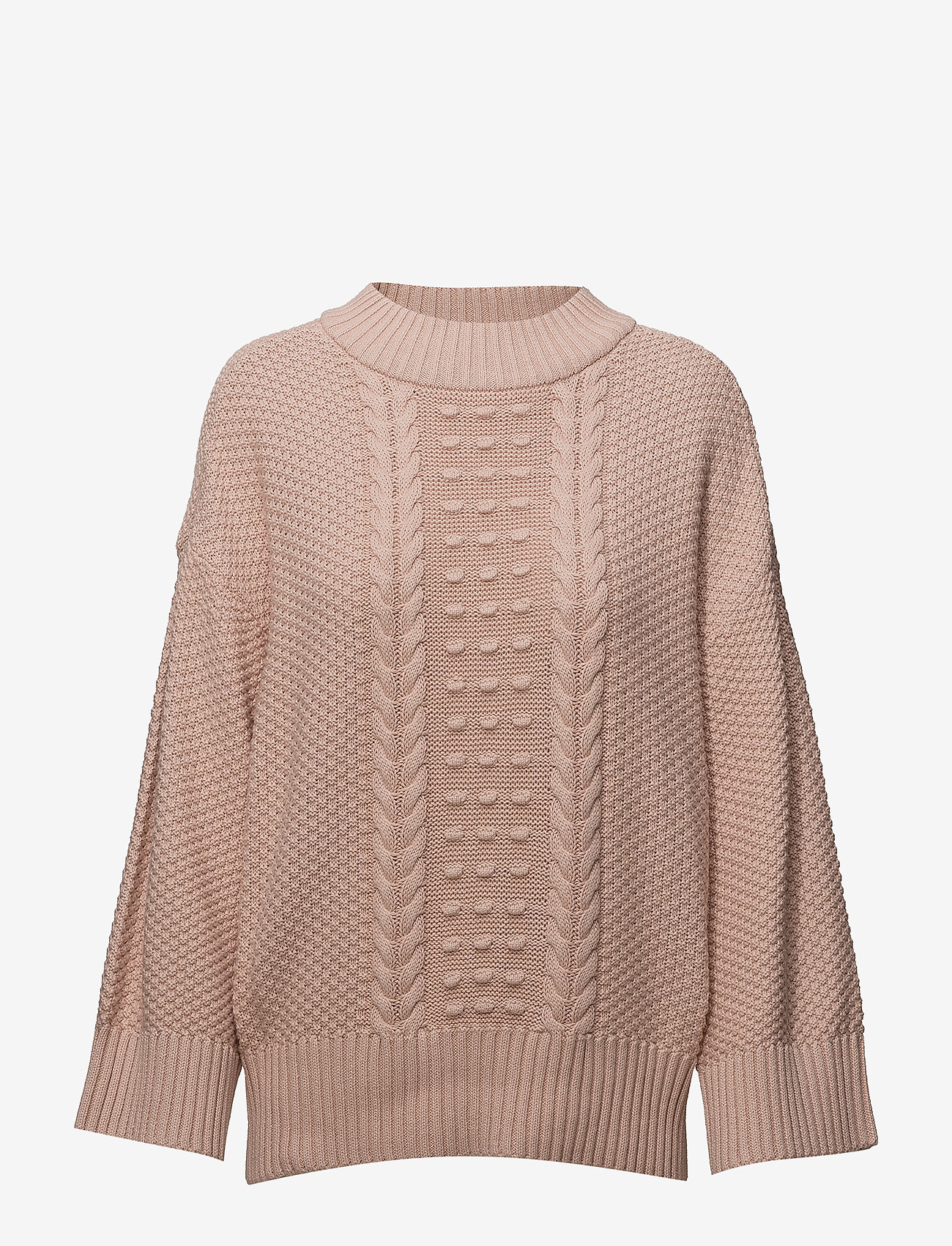 Part Two - Moisy PU - jumpers - sepia rose