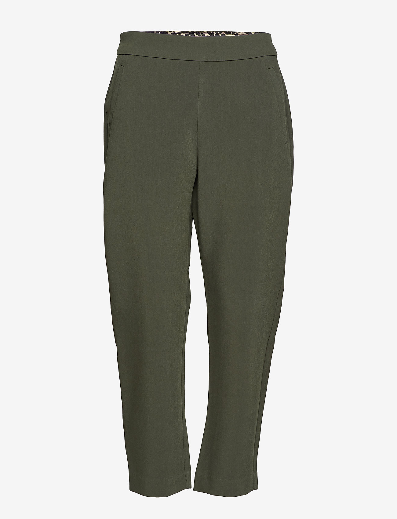 Part Two - Manny PA - straight leg trousers - rosin
