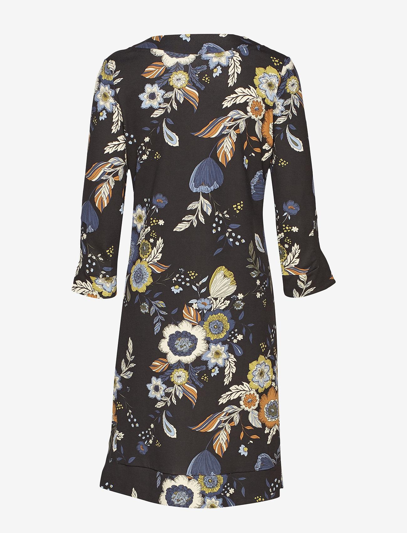 Part Two LastinaPW DR - Sukienki BIG FLOWER PRINT, BLACK. - Kobiety Odzież.