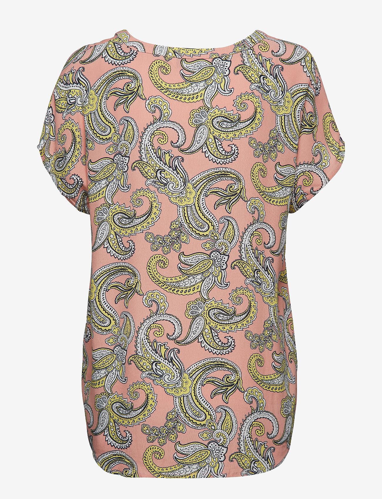 Part Two Helenas BL - Bluzki & Koszule ARTWORK MEDIUM PINK - Kobiety Odzież.
