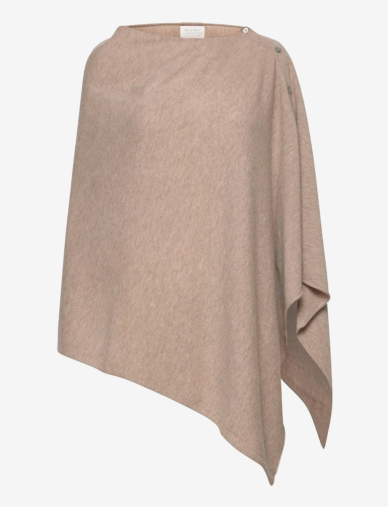 Part Two - RiannaPW PO - ponchos en capes - light camel melange - 0