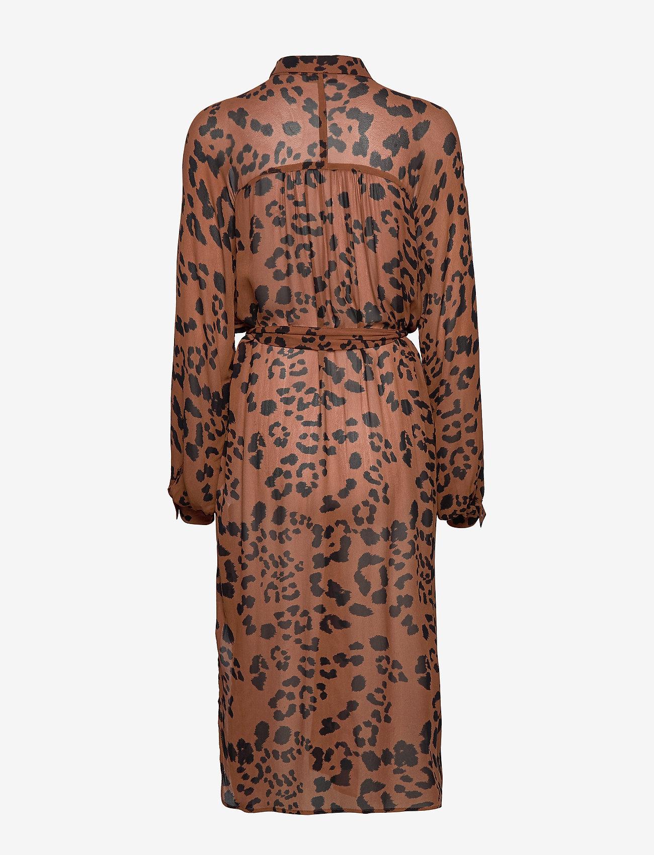 For Billig Kvinder Tøj.Thandie Dr Leopard Print, Brown. 600 Part Two pVrBj7