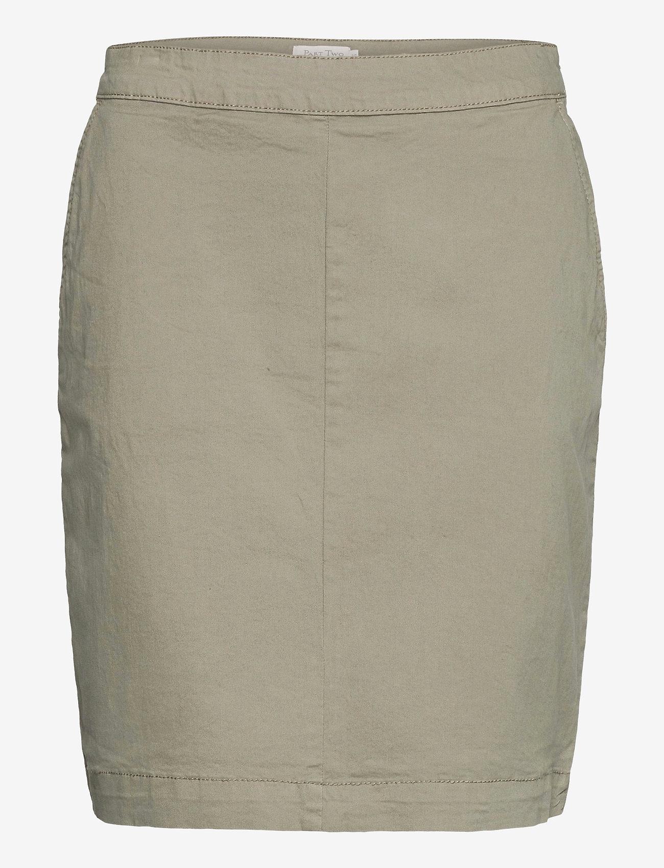 Part Two - SofalaPW SK - korte nederdele - vetiver - 1