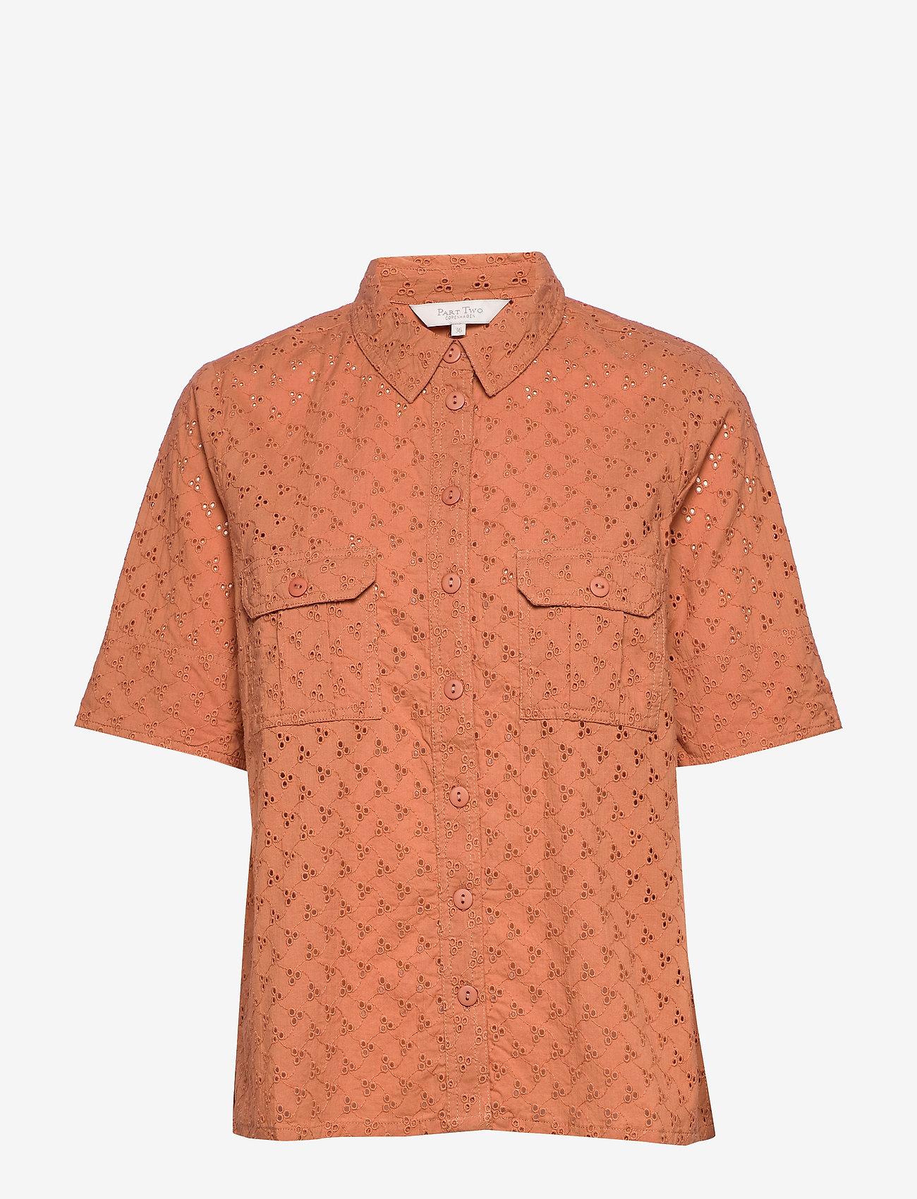 Part Two - DogaPW SH - overhemden met korte mouwen - sunburn - 0