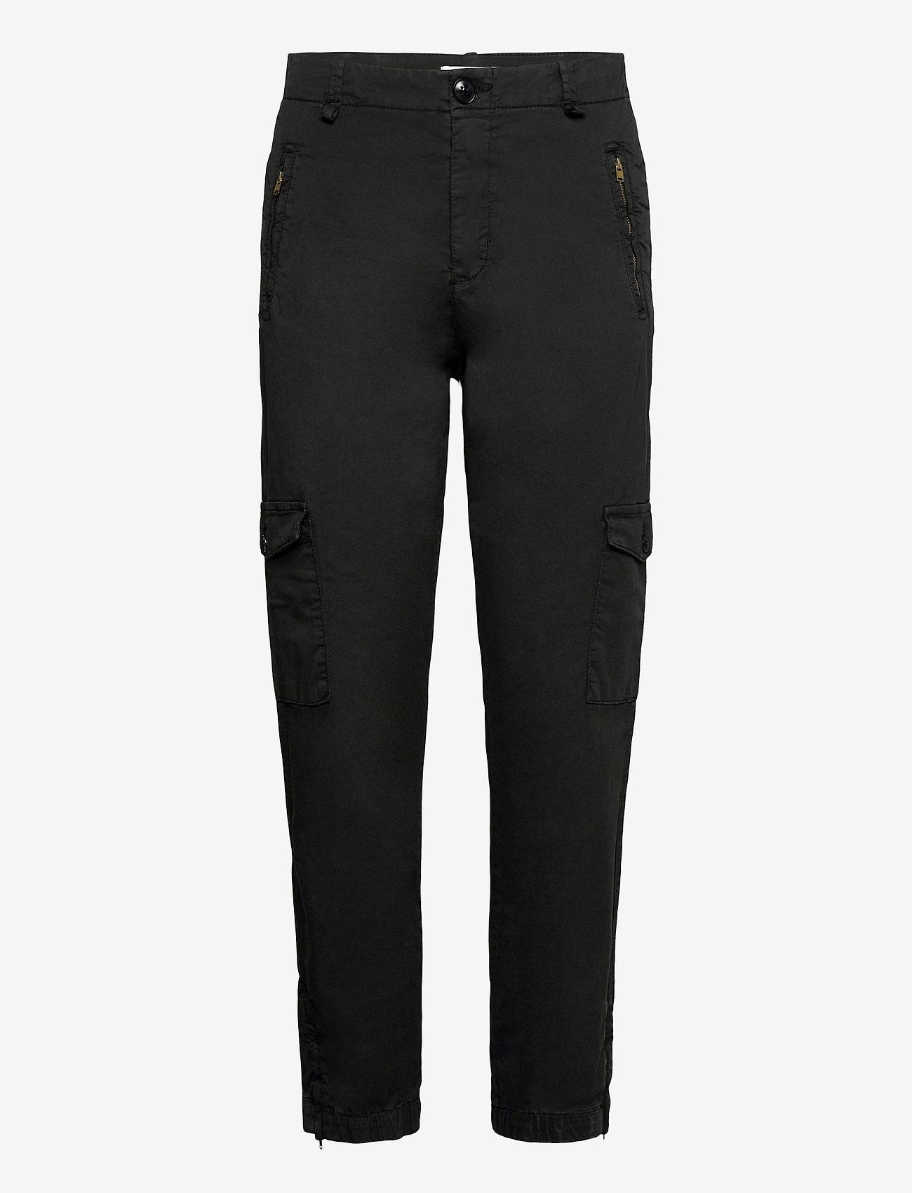 Part Two - SevenPW PA - pantalons droits - black - 0