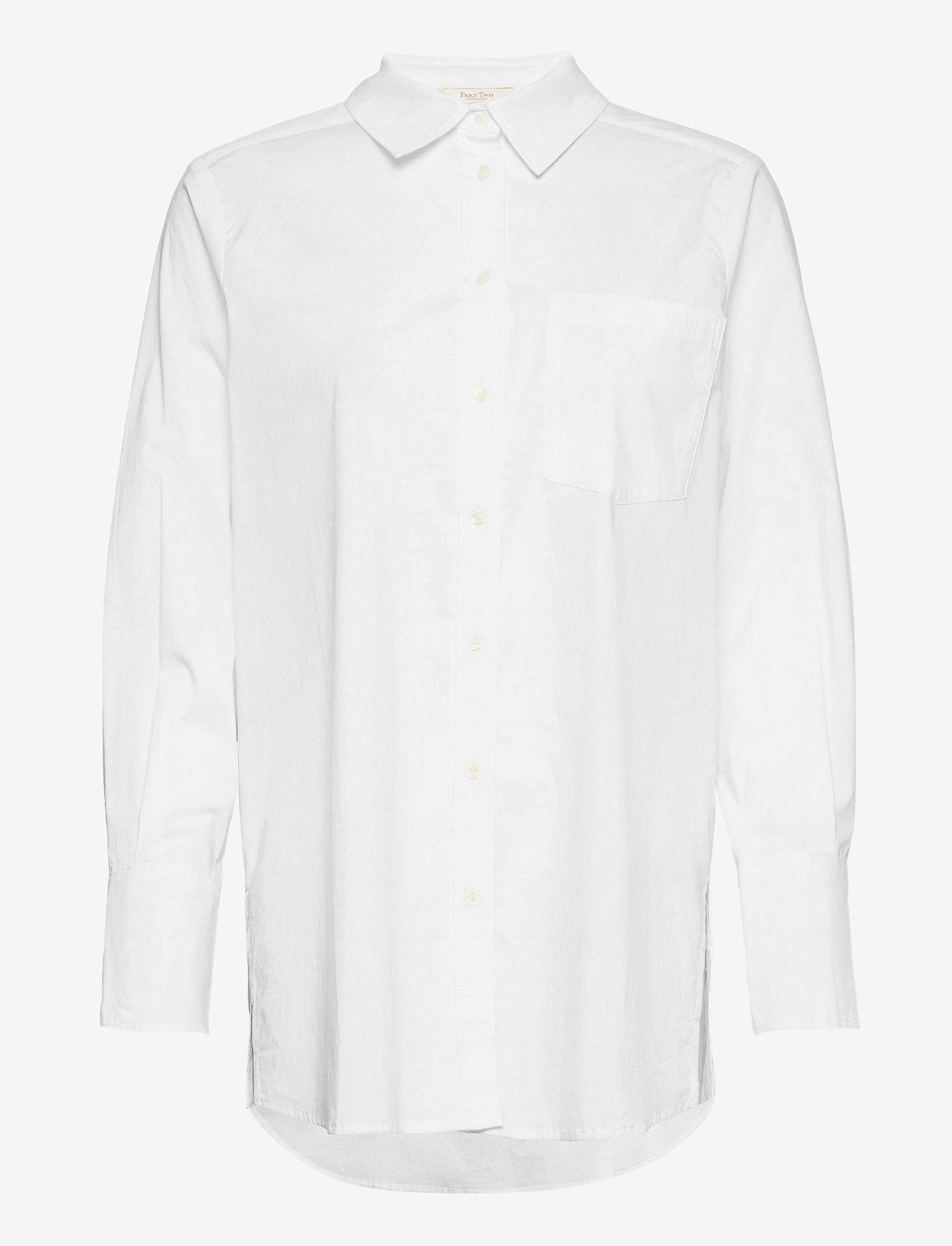 Part Two - EdibePW SH - chemises à manches longues - bright white - 1