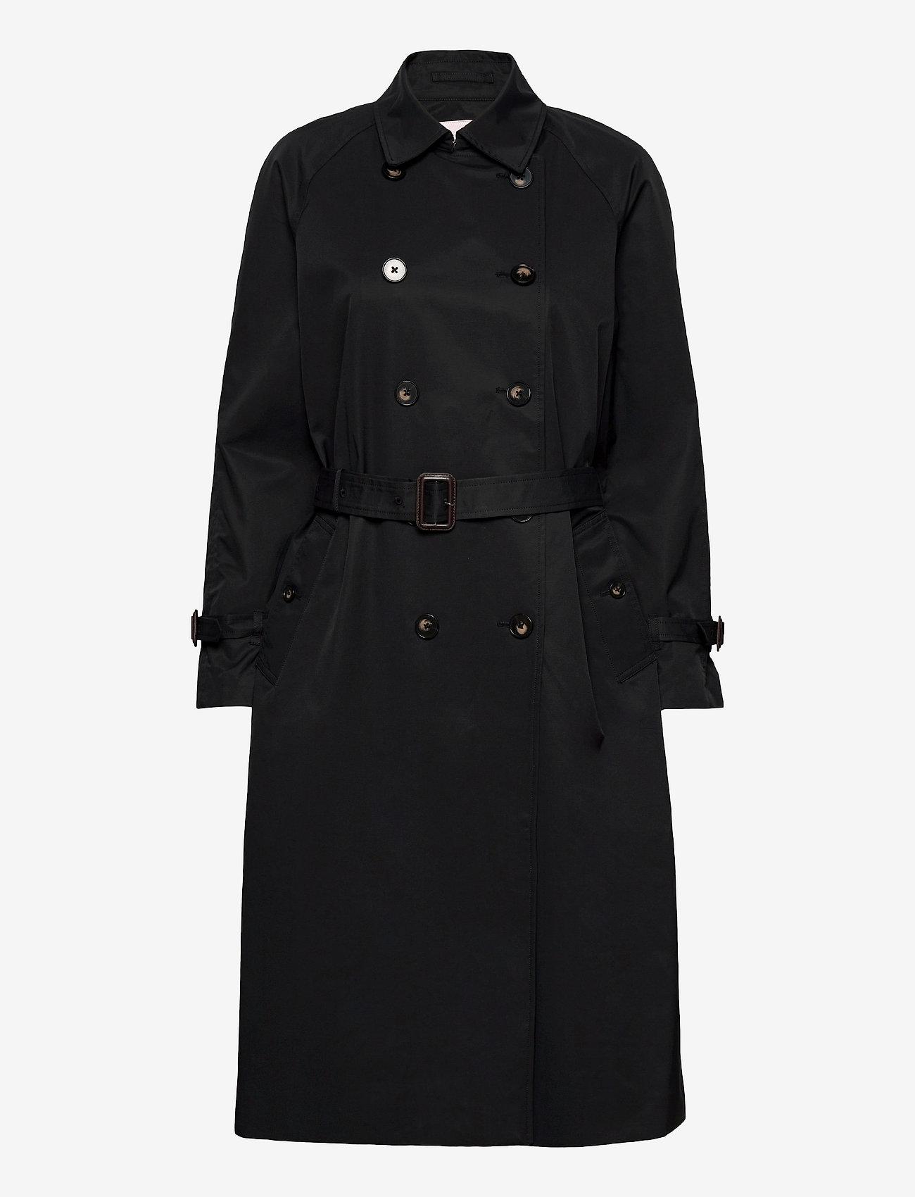 Part Two - HadiaPW OTW - trenchcoats - black - 0