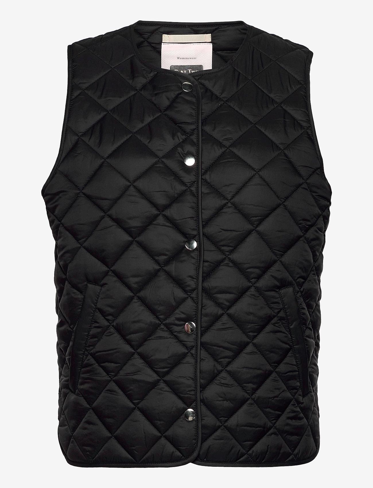 Part Two - HellenPW OTW - puffer vests - black - 0