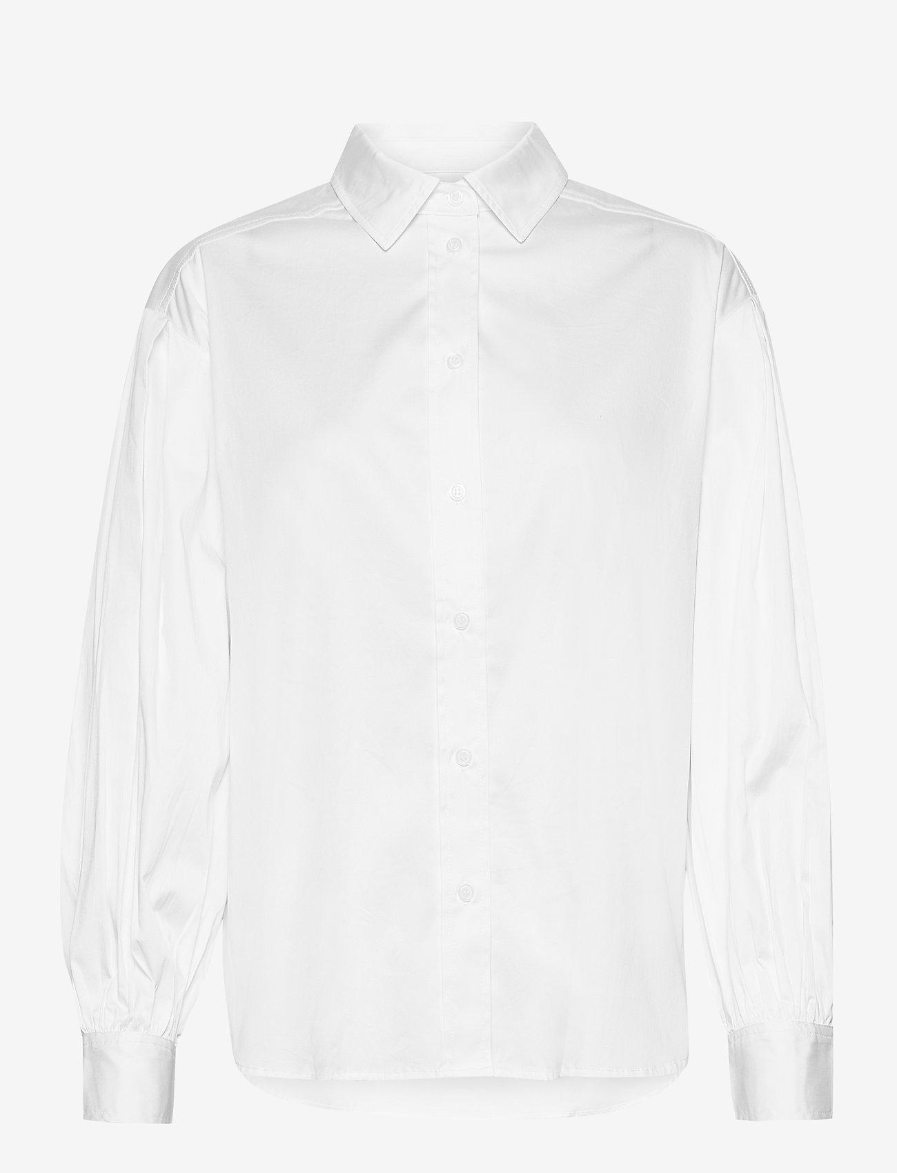 Part Two - GyaPW SH - denimskjorter - bright white - 1