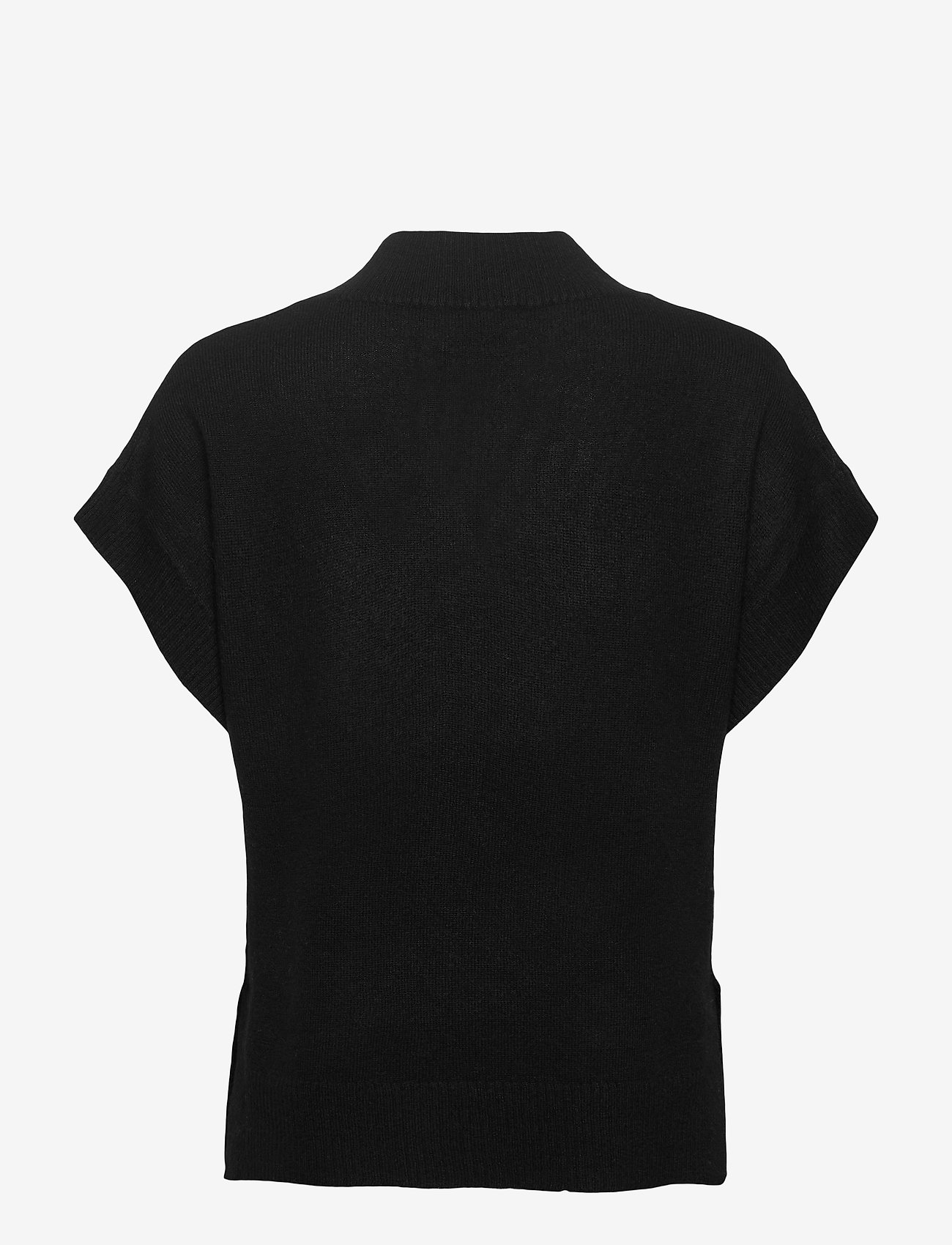 Part Two - HevinPW PU - strikkede toppe - black - 1