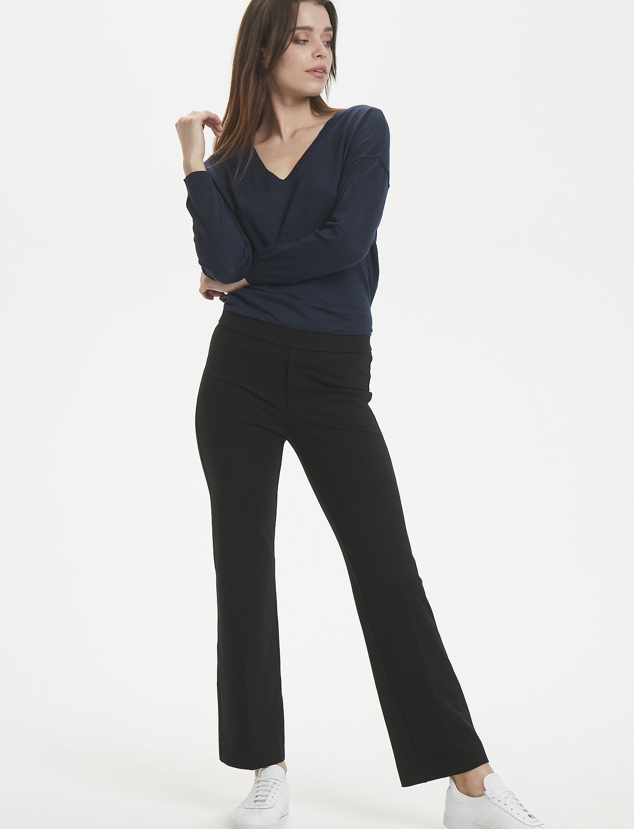 Part Two - PontaPW PA - pantalons droits - black - 0