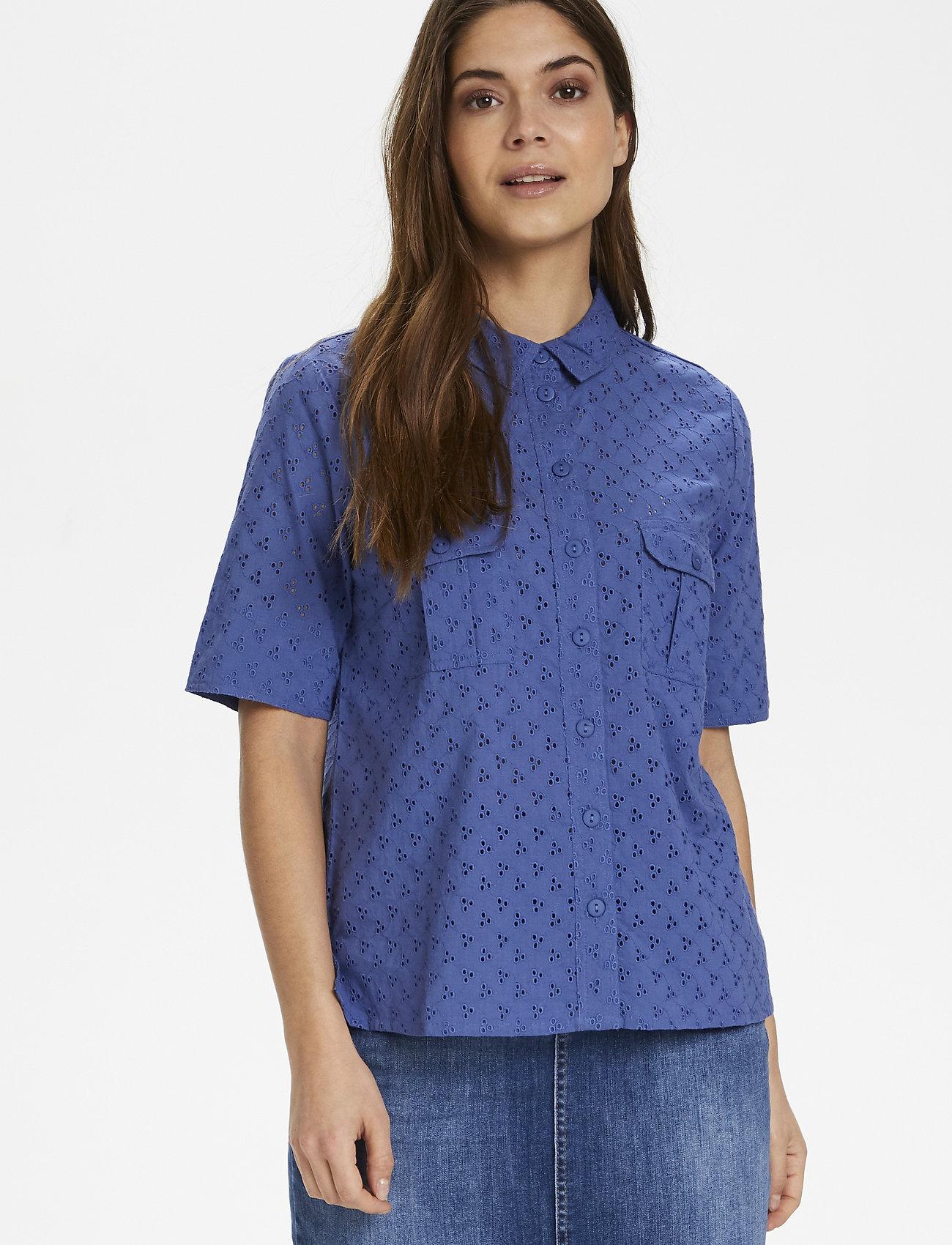 Part Two - DogaPW SH - koszule z krótkim rękawem - marlin - 0