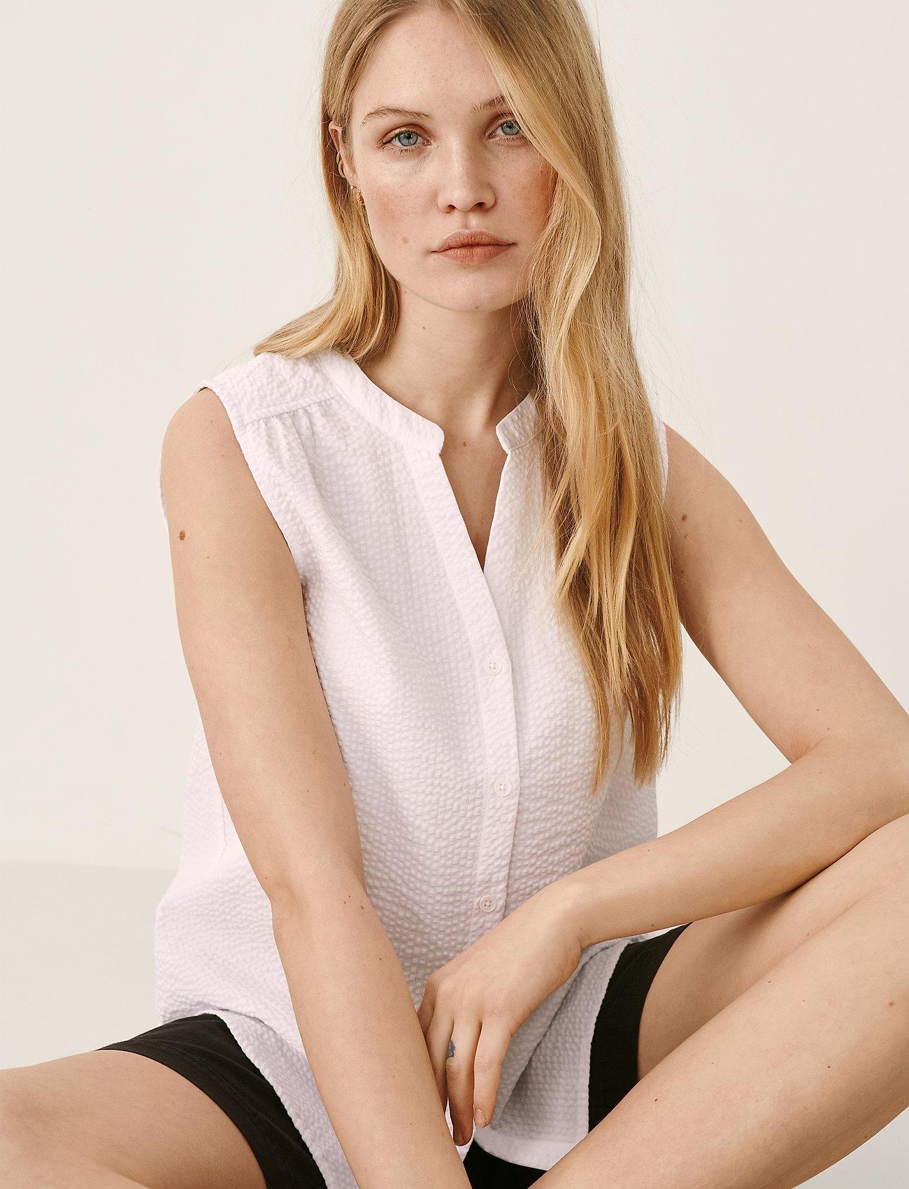Part Two - IgrenePW SH - denimskjorter - bright white - 0