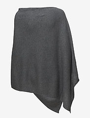 Part Two - KristannaPW PO - ponchos & capes - medium grey melange - 1