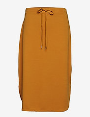 Part Two - MerlePW SK - midi skirts - golden yellow - 0