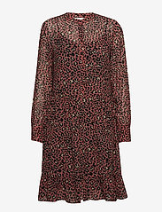 Part Two - Miriam DR - midi dresses - artwork medium pink - 0
