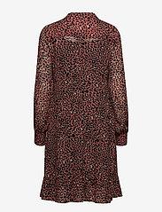 Part Two - Miriam DR - midi dresses - artwork medium pink - 1