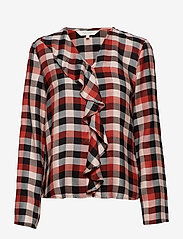 Part Two - Miata BL - long sleeved blouses - artwork dark orange - 0