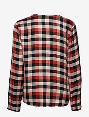 Part Two - Miata BL - long sleeved blouses - artwork dark orange - 1