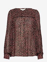 Part Two - Modesty BL - long sleeved blouses - artwork medium pink - 0