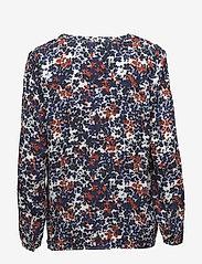 Part Two - Ilena BL - long sleeved blouses - artwork medium blue - 1