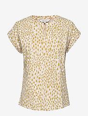 Part Two - KeditaPW TS - basic t-shirts - dot print, cream tan - 1
