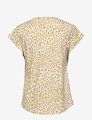 Part Two - KeditaPW TS - basic t-shirts - dot print, cream tan - 2