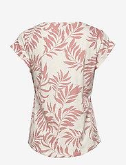 Part Two - KeditaPW TS - basic t-shirts - palm print, terra cotta - 1