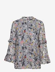 Part Two - Neimas BL - long sleeved blouses - artwork light blue - 0