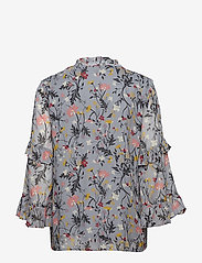 Part Two - Neimas BL - long sleeved blouses - artwork light blue - 1