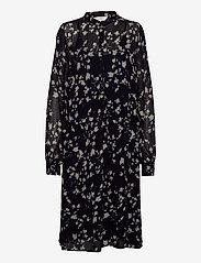 Part Two - TaniaPW DR - midi kjoler - abstract print, navy - 0