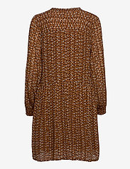 Part Two - TaniaPW DR - midi kjoler - dot print, hazel brown - 1