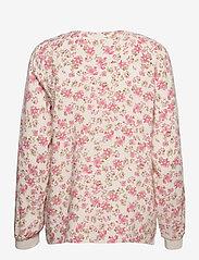 Part Two - PaxPW BL - langærmede bluser - pink flower print - 2
