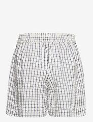 Part Two - IwonaPW SHO - casual shorts - gray blue check - 2