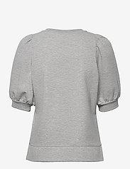 Part Two - JeaPW SW - strikkede toppe - grey melange - 1
