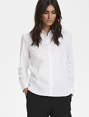 Part Two - BiminiPW SH - long-sleeved shirts - pale white - 0