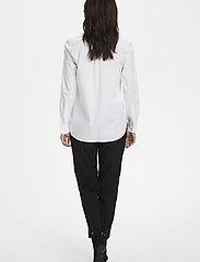 Part Two - BiminiPW SH - long-sleeved shirts - pale white - 4