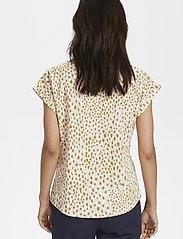 Part Two - KeditaPW TS - basic t-shirts - dot print, cream tan - 5