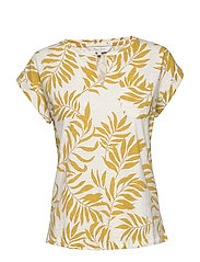 KeditaPW TS - PALM PRINT, GOLDEN SPICE
