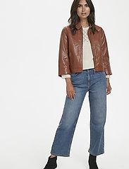 Part Two - Adelaide JA - nahkatakit - leather brown - 2