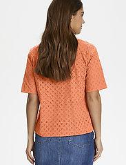 Part Two - DogaPW SH - koszule z krótkim rękawem - sunburn - 5