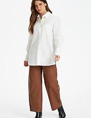 Part Two - EdibePW SH - chemises à manches longues - bright white - 5