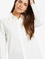 Part Two - EdibePW SH - chemises à manches longues - bright white - 8