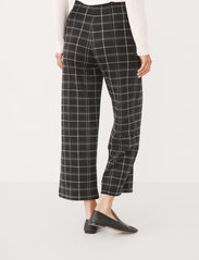 Part Two - IlisanPW PA - bukser med brede ben - black check - 4